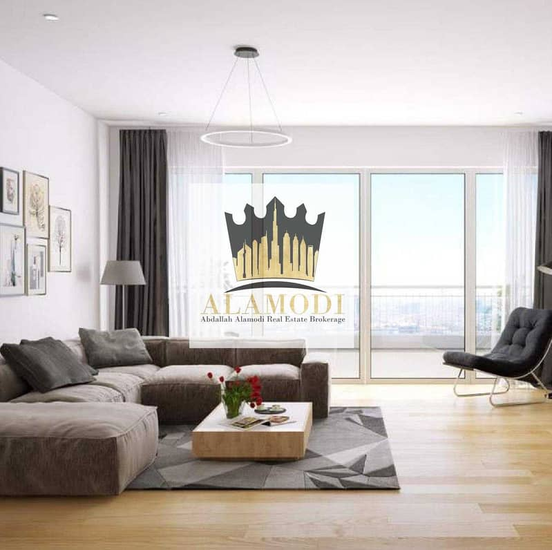 2 2 BHK for sale in Ajman and installments over 10 years