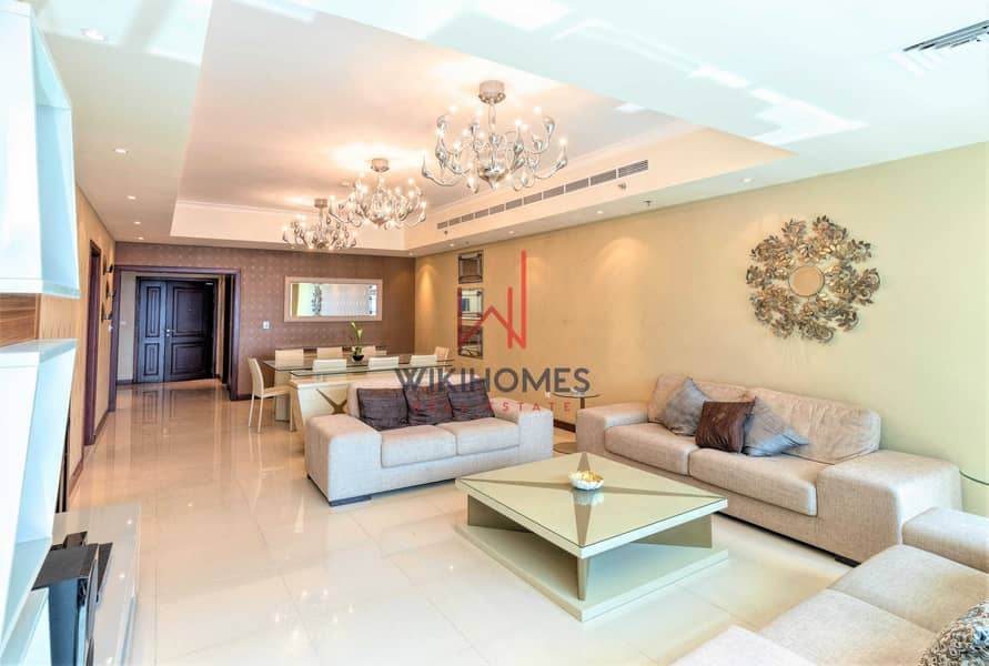2 High ROI | Floor to ceiling windows | High Floor | Dubai Marina View | Luxurious