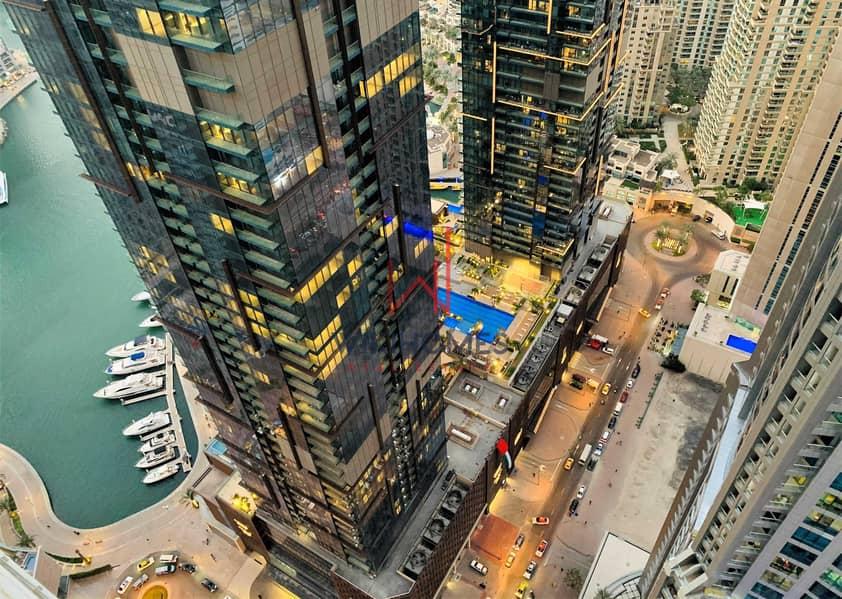 13 High ROI | Floor to ceiling windows | High Floor | Dubai Marina View | Luxurious