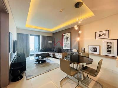 شقة 1 غرفة نوم للايجار في الخليج التجاري، دبي - Luxurious Tower | Large Balcony | Lower floor
