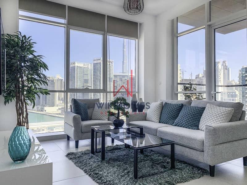 2 7% ROI   0 Commission   0 Transfer Fees  High Floor  Semi-Furnished   Bright & Modern