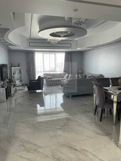 3 Bedroom Apartment for Sale in Al Majaz, Sharjah - Apartment with decorations and furniture 3 balconies