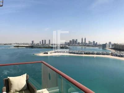 فلیٹ 2 غرفة نوم للبيع في نخلة جميرا، دبي - Excellent Sea View | Exclusive Beach Access | Two Bedroom
