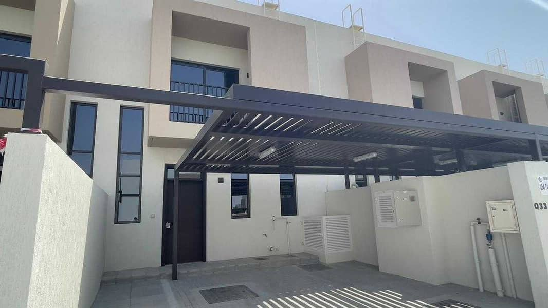 Brand New 3 Bedrooms Townhouse is available for rent in Nasma Residence for 70,000 AED