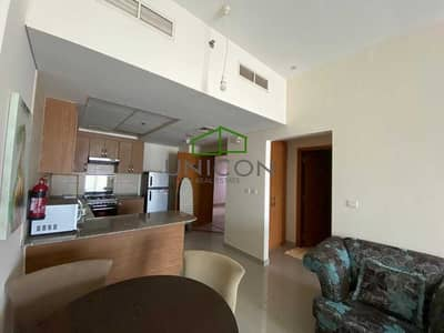 1 Bedroom Flat for Rent in Downtown Jebel Ali, Dubai - Beautiful Cozy Bright Furnished 1 Bed room