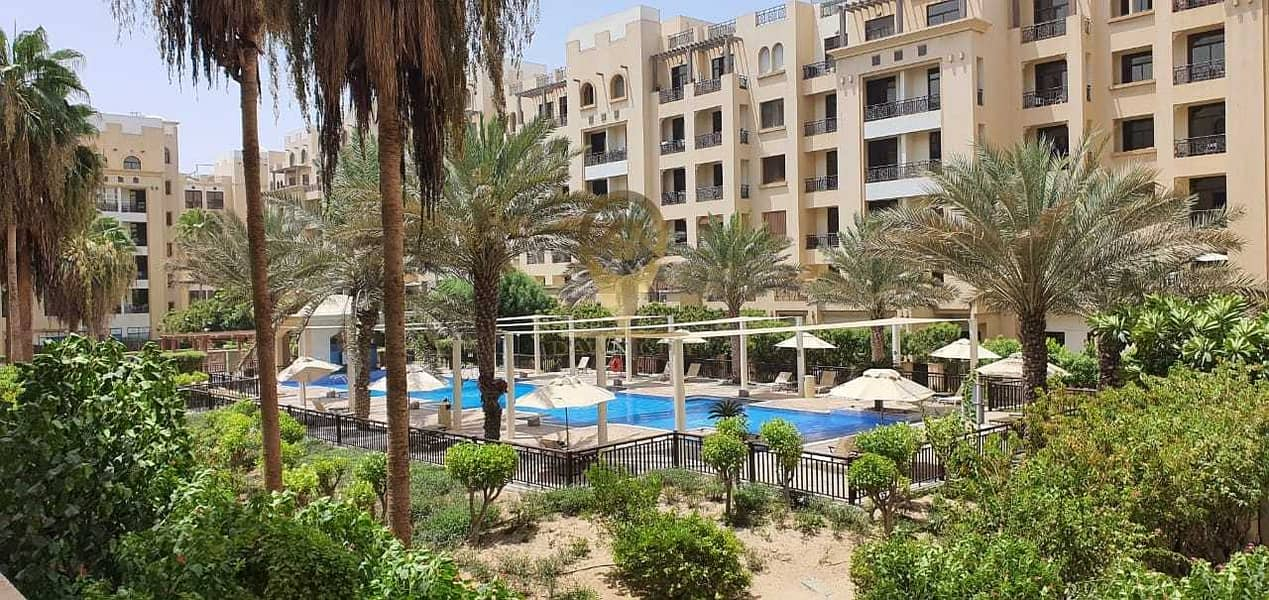 POOL VIEW | WELL MAINTAINED | SPACIOUS 1BR | FULLY FURNISHED