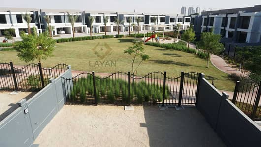 3 Bedroom Villa for Sale in Motor City, Dubai - Corner unit with Park view 15 years Payment Plan