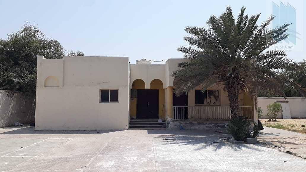 Villa with large plot for sale in Al Twar 1