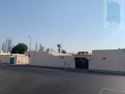 8 Bedroom Villa for Sale in Al Badaa, Dubai - House with G+1+50%R attached 3 villas permission