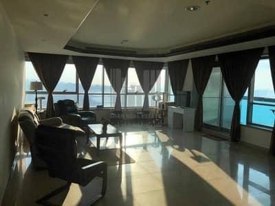 2 Bedroom Flat for Sale in Corniche Ajman, Ajman - Sea View 2 BHK   Amazing Partial  Sea View   For SALE