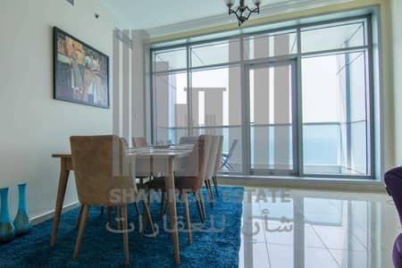 2 Bedroom Flat for Rent in Corniche Ajman, Ajman - Luxury 2 Bedroom Full Sea View in Corniche