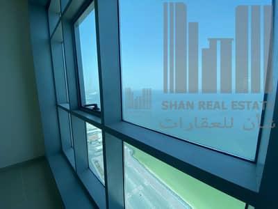 شقة 2 غرفة نوم للايجار في كورنيش عجمان، عجمان - 2 Bedroom Full Sea View | AC Free | PARKING free