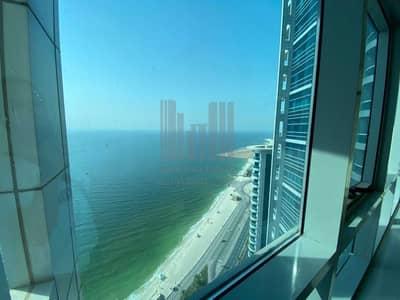 2 Bedroom Flat for Sale in Corniche Ajman, Ajman - Amazing Sea View to Dubai side   1BHK with 2 Washroom