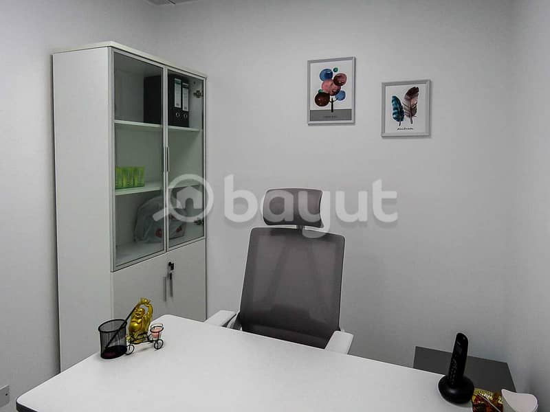 2 Fully Furnished And Serviced Office | Al Musalla Tower | Near Metro