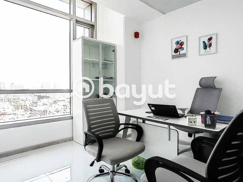 Business Center In Bur Dubai   AED 12000   Al Musalla Tower