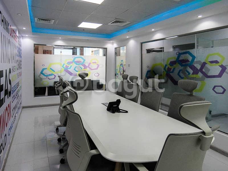 2 Business Center In Bur Dubai   AED 12000   Al Musalla Tower