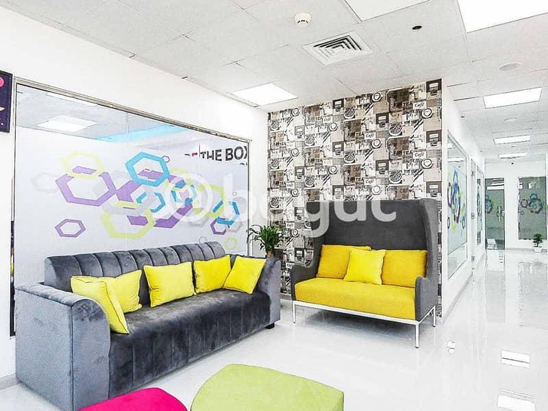 Flexi Desk Office For Rent | Al Musalla Tower | Bur Dubai