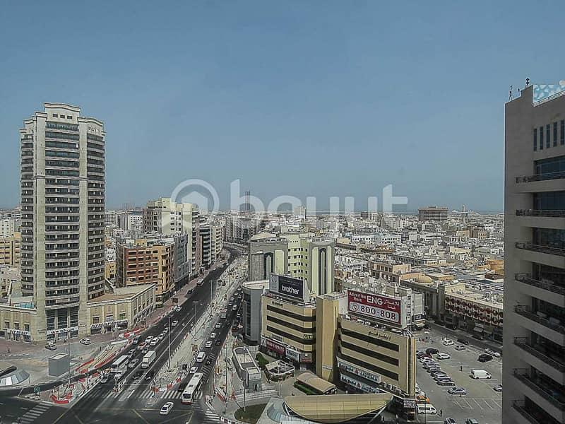 10 Business Center In Bur Dubai   AED 12000   Al Musalla Tower