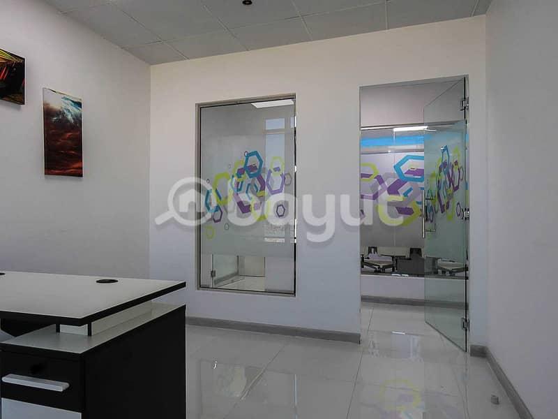 2 Stunning Flexi Desk Office | Fully Serviced | Al Musalla Tower