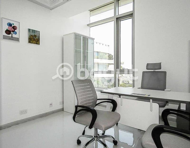 Brand New Fully Furnished Office | Swimming Pool View | Near Metro