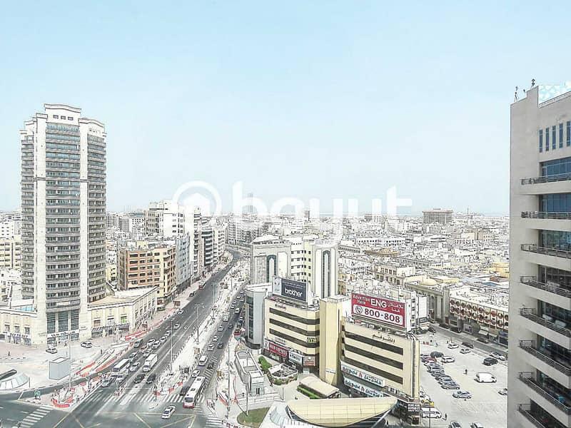 10 Flexi Desk Office For Rent | Al Musalla Tower | Bur Dubai