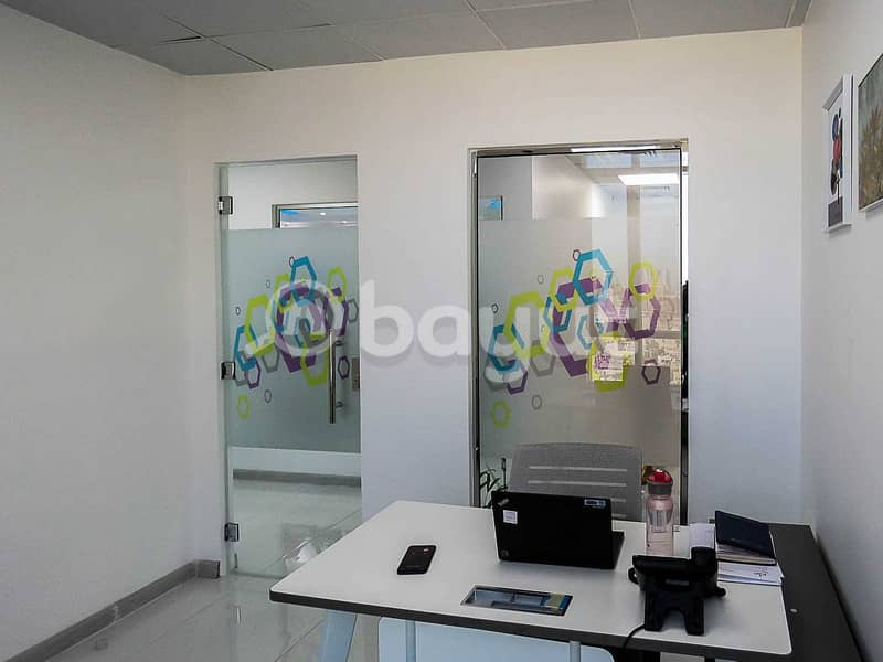 2 Serviced Office For Rent |  Fully Furnished | Al Musalla Tower