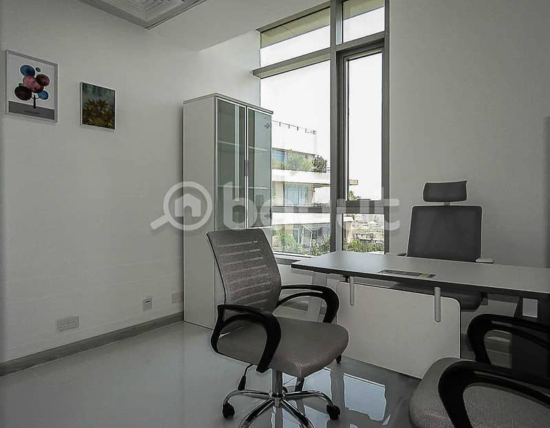 10 Serviced Office For Rent |  Fully Furnished | Al Musalla Tower