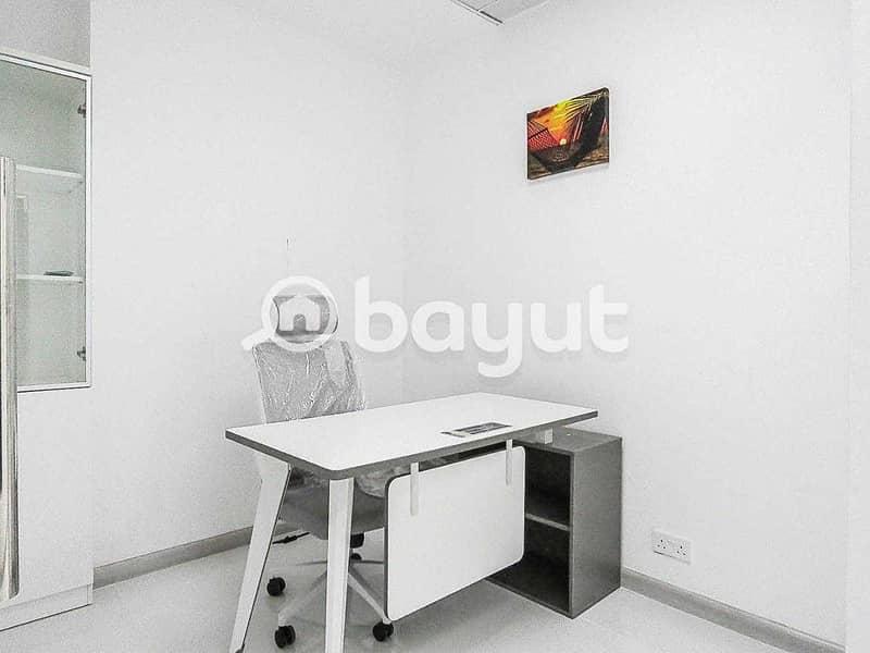 Smart & Flexi Desk Office At 18k Only   Al Musalla Tower  