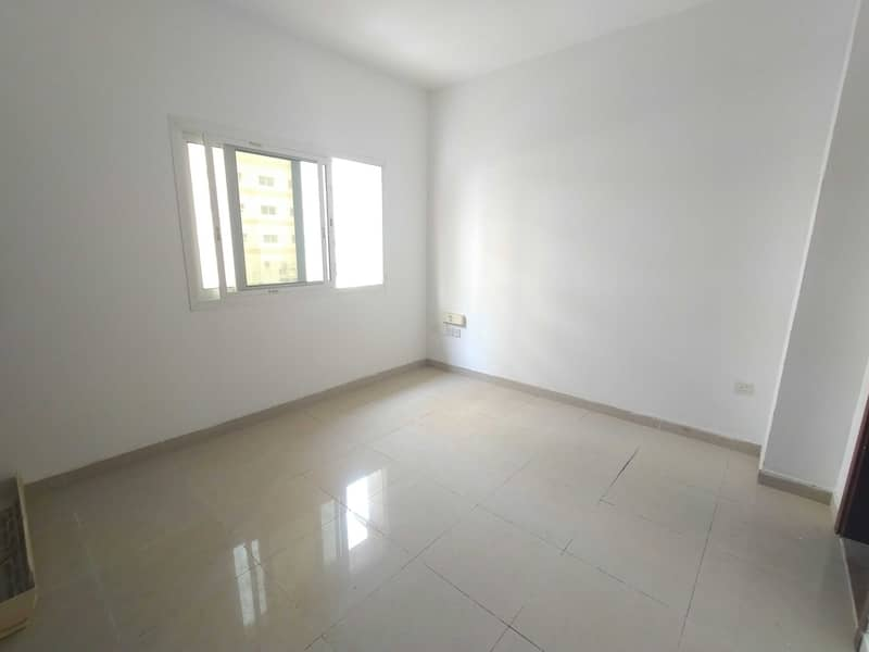 Hot offer Cheapest  one month free Studio Apartment With 1 Bathroom Split Ac 400 Sqfeet   Family building  rent only 7990 al nabba area