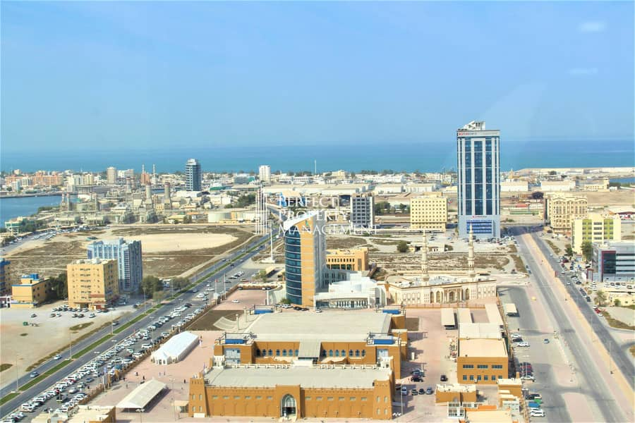 Beautiful studio for rent in RAK Tower with very good features