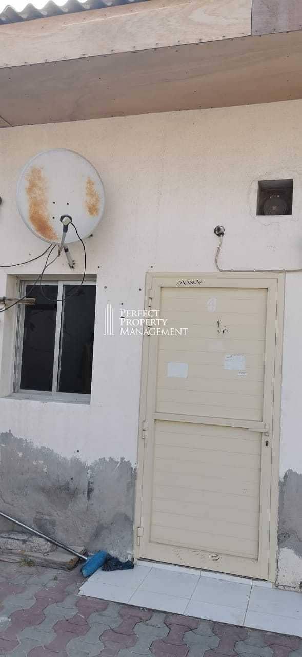 11 Big studio for rent next to Mamoura Road near Dewaan Masjid
