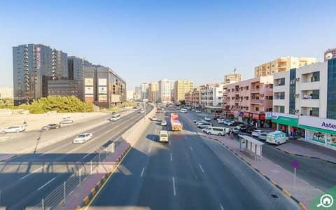 Plot for Sale in Al Nuaimiya, Ajman - 6460 sqft commercial plot!! 4 side corners (2 sikka 2 roads plot)!! g+6 permission