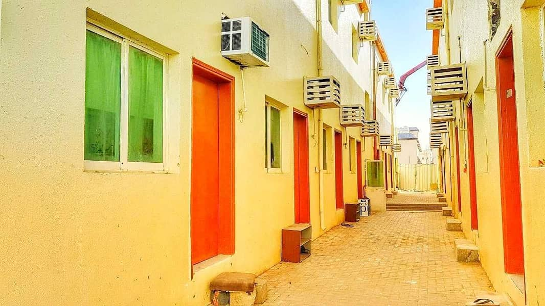 2 cheapest in the market!! 14 rooms independant Labor Camp For just aed 450/month per room