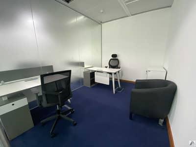 مکتب  للايجار في بر دبي، دبي - One Payment -Furnished office -No Commission -Linked with Metro