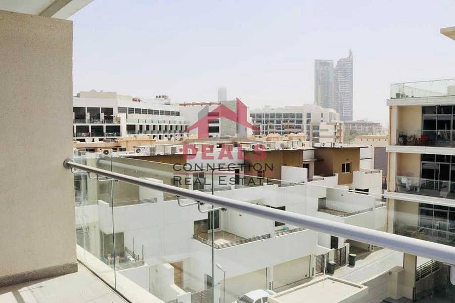 13 Ready to Move | Spacious  Studio  Apartment with balcony  for Rent in Shamal Residence