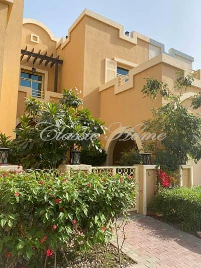 فیلا 4 غرف نوم للايجار في دبي لاند، دبي - 4 Bedroom + Maid's Room+ Driver Room Townhouse Aegean Style – With Pool Kitchen Upgraded