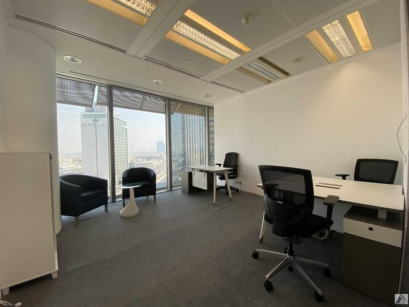 Deal of the week| Serviced and Furnished Office Good For 4 persons | Linked with Metro and Mall