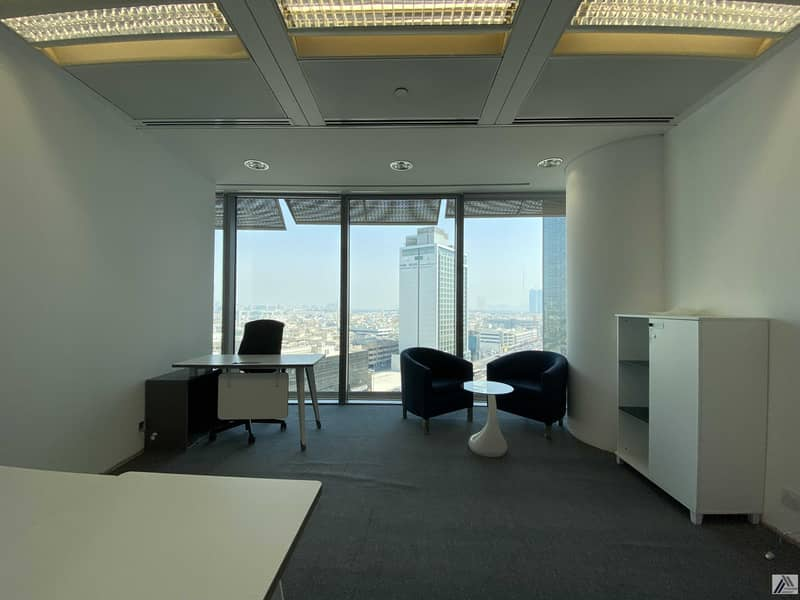 2 Deal of the week| Serviced and Furnished Office Good For 4 persons | Linked with Metro and Mall