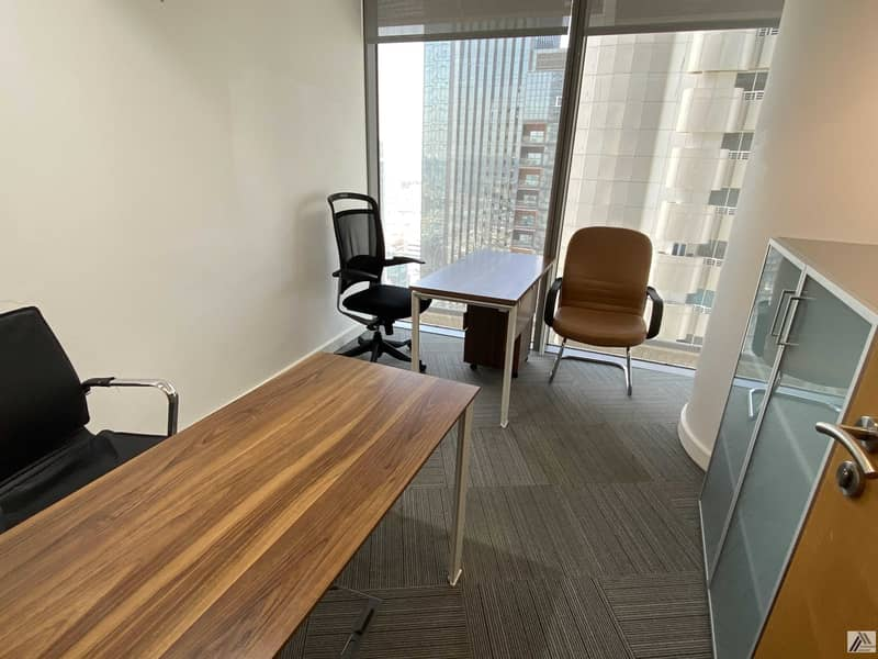Affordable Fully Furnished Office   All Amenities Free  Linked with Mall and metro