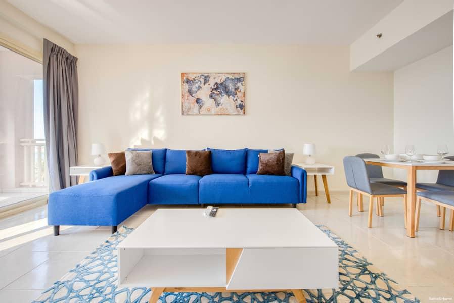 شقة في میناء العرب 1 غرف 4800 درهم - 4558357