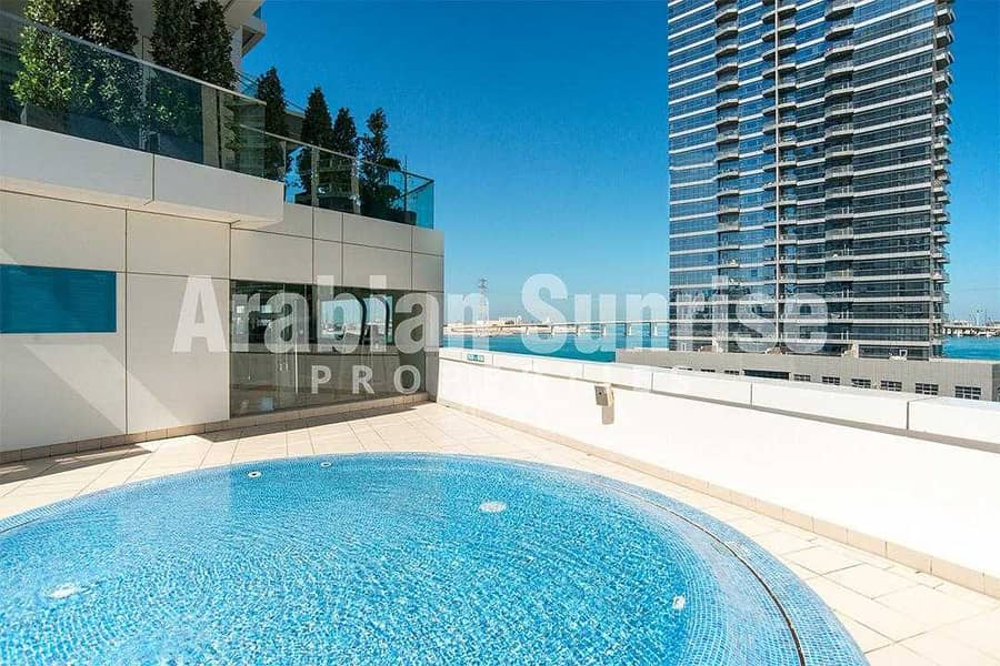 VACANT! High Floor 2+M BR Apt with Sea View