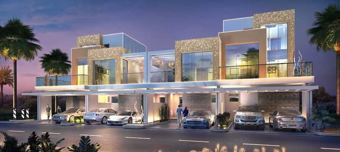 3 Bedroom Townhouse for Sale in DAMAC Hills (Akoya by DAMAC), Dubai - Post Handover Payment Plan   0% Commission   Flexible Payments