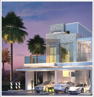 تاون هاوس 4 غرف نوم للبيع في داماك هيلز (أكويا من داماك)، دبي - Stunning Rooftop Terrace Villa  4 Years Payment Plan   GreenWoods