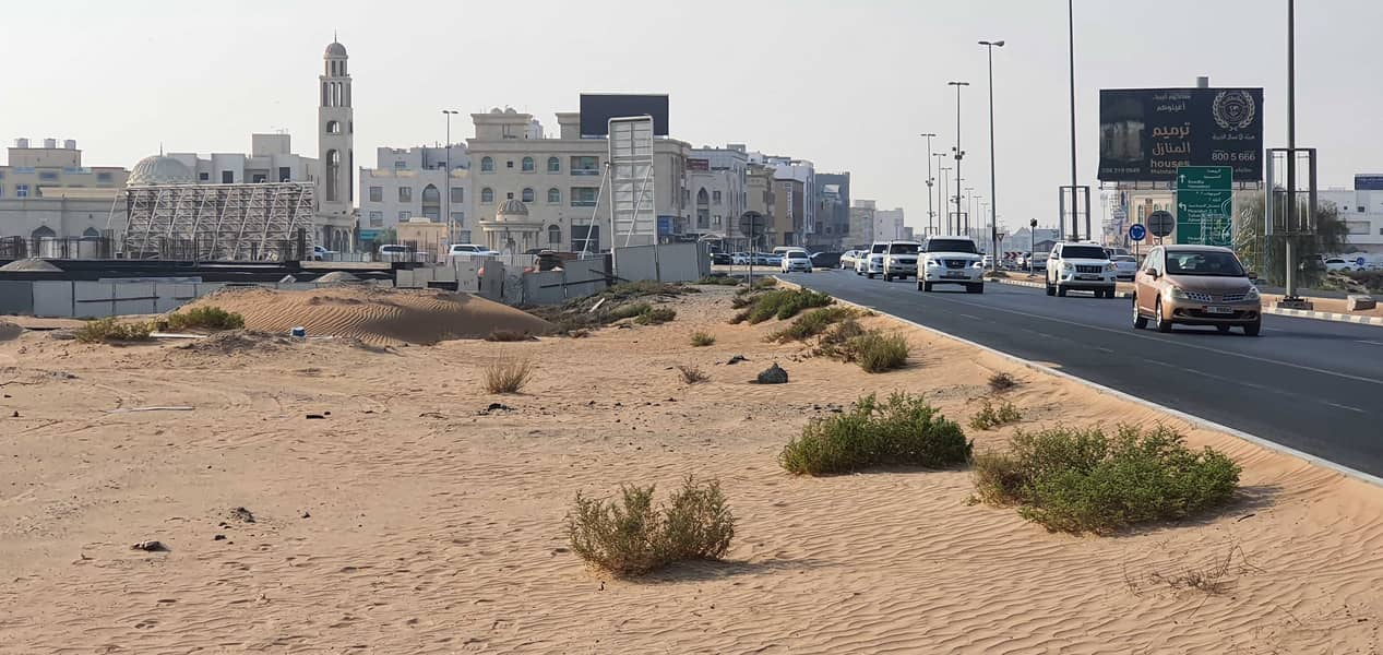 G+4 Commercial Plot on Sheikh Ammar Road, Ajman