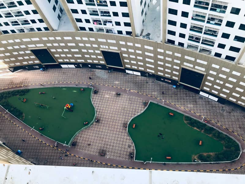 Garden-view!! Two Bedroom Flat for Rent in Ajman Pearl Towers, Ajman