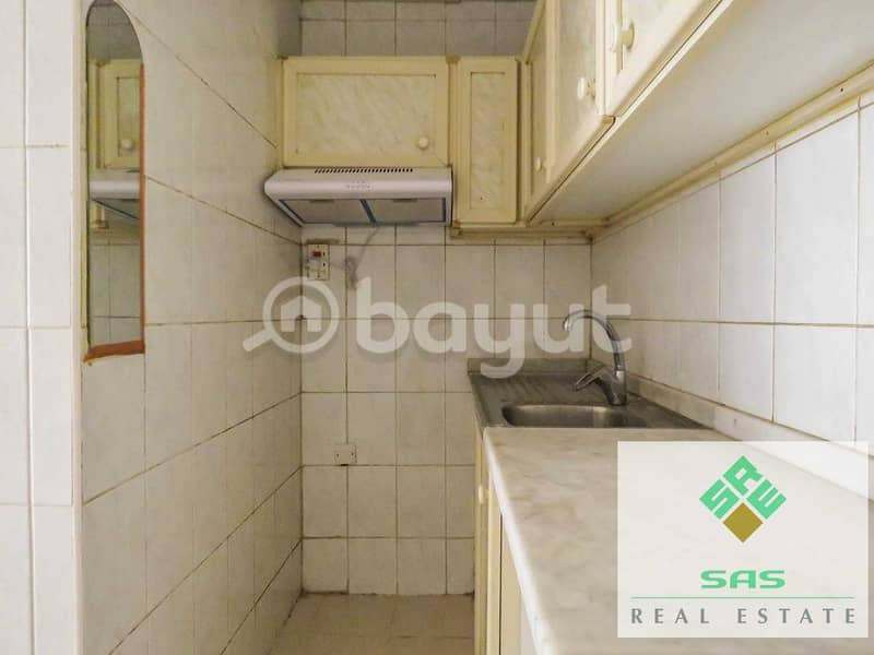 2 BIG STUDIO FLAT CENTRAL A/C. WITH SEPARATE KITCHEN
