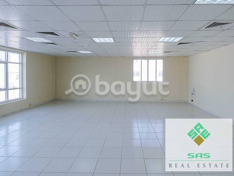 OFFICE (742 SQ. FT) with 6 INSTALLMENT -CENTRAL A/C.  PARKING