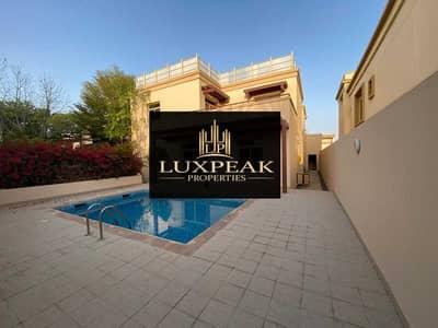 فیلا 5 غرف نوم للبيع في مدينة خليفة أ، أبوظبي - Golf Garden  Single Villa 5br   Lylak Type  Community Center