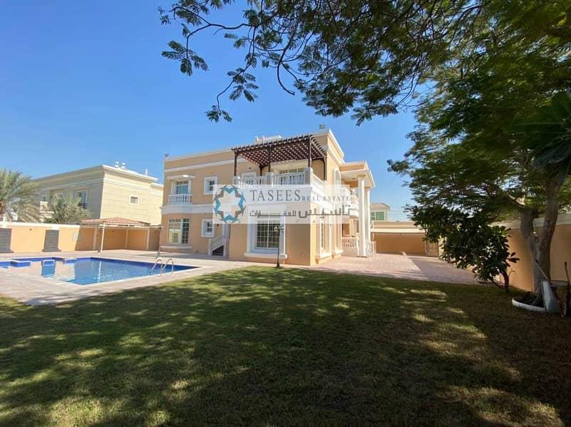 Spacious villa for  GCC Family only   Corner Villa