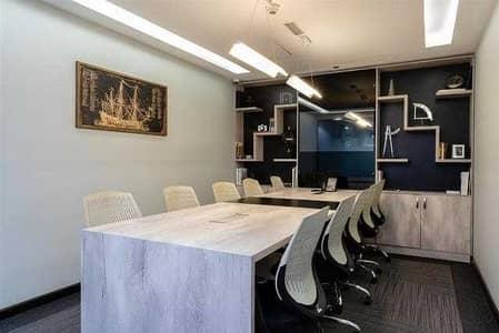 مکتب  للايجار في الخليج التجاري، دبي - Free Utilities | 1 Year Shared Office | Fully-serviced